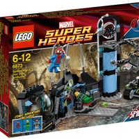 ready LEGO 6873 - Super Heroes - Spider-Man's Doc Ock Ambush