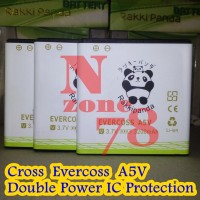 Baterai Cross Evercoss A5v Double Power Protection Garansi 1 Tahun