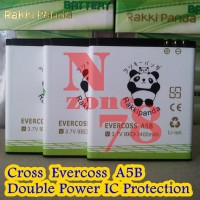 Baterai Cross Evercoss A5b Double Power Ic Protection