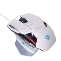 Mad Catz PC MCZ R.A.T.3 ( rat 3 ) Mouse Gaming USB - White