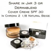 Share in Jar 3gr Dermablend Cover Creme in 2 1/8 Natural Beige