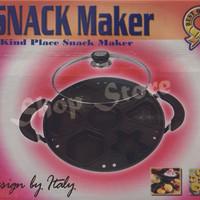 Cetakan Kue|Snack Maker 7 Holes Motif|SNACK Maker + Buku Resep
