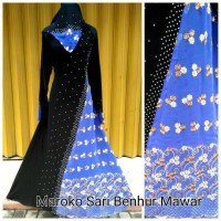 abaya maroko sari india plus pasmina