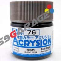 Acrysion N 76 BURNT IRON - Model Kit Gundam paint