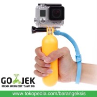 Jual Action Cam Bobber Floating Hand Grip for XiaomiYi M10 / GoPro - ACBFHG Murah