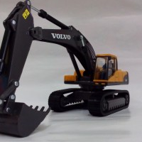 Diecast Miniatur Alat Berat Tambang Volvo EC290C Excavator Replika 1:5