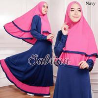 Hijab Modern Sabrina Syar'i 2in1 ( Gamis Busui + Jilbab Bergo )