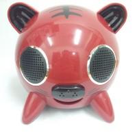 Speaker 2.1 Advance V402 Tiger Cartoon System Strong Bass