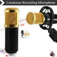 Taffware Professional Condenser Studio Microphone BM 800 with Shock