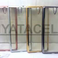 Case List Chrome Sony Xperia C5 / C5 Ultra /TPU/Softcase/Silikon/Soft