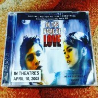 CD Ost In The Name of Love - By Addie MS , Getah Band , Acha Septriasa