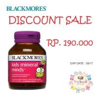 Blackmores Kids Mineral Minds Suplement Anak UTK KONSENTRASI OTAK