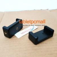 Clamp Holder Universal Dual Screw Horizontal Vertikal for Smartphone