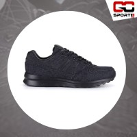 sepatu Piero JOGGER BLACK DENIM(ALL BLACK)