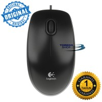 Jual Logitech Mouse B100 Optical USB Original Murah