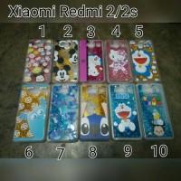 Case Glitter Karakter Xiaomi Redmi2 /Case Xiaomi Redmi 2s Gliter Air