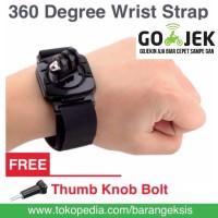 Action Cam 360 Degree Wrist Strap for SJCAM Series / GoPro / XiaomiYi