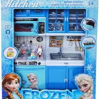 Jual Mainan Anak Perempuan Kitchen Set Frozen Type C - Mainan Masak-Masak Murah