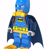 The Lego Batman Movie Blue Suit DC Super Heroes replica