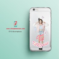 Casing Handphone KPOP Chaeyoung (Twice) Clear