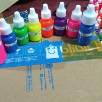 pewarna neon 10cc 10ml pigmen warna pigment slime