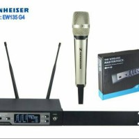 microphone wireless sennheiser ew-135 G4 single mic