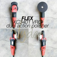 FLEX XC 3401 VRG Dual Action Orbital Polisher Forced Rotation MURAH