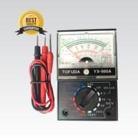 Multitester Tofuda YX-980A ( Top Quality ) Alat Ukur / Mini Multimeter