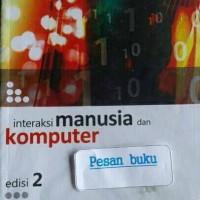 Buku Interaksi Manusia dan Komputer
