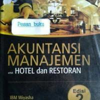 Buku Akuntansi Manajemen Untuk Hotel Dan Restoran