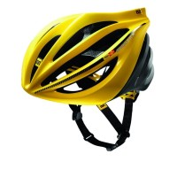 MAVIC HELMET PLASMA SLR YELLOW / BLACK .