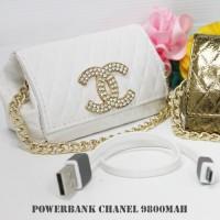 harga Power Bank Chanel Tas Mini 9800 Mah Best Design Tokopedia.com