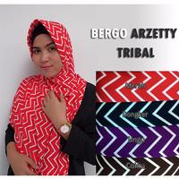 Jual Bergo Syari / Jilbab Bergo Arzetty Tribal ( Grosir, Murah, Terbaru ) Murah