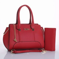 Tas Chloe Basic Top Handle MERAH Semi Premium Sale 163