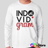 T Shirt | Kaos Lengan Panjang indovidgram logo