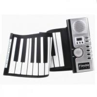 Mainan Digital Roll Up Soft Keyboard Piano 61 Key with Midi Function