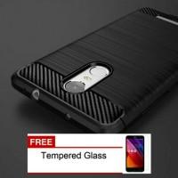 Jual Case Xiaomi Redmi Note 3 /3 Pro Excelusive Carbon Bonus Tempered Glass Murah