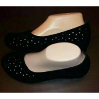 harga Sepatu Flat Jelly Shoes Wedges Wanita Tokopedia.com