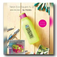 Jual Promo Murah Tupperware - Neon Eco Bottle Murah