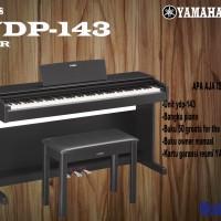 Yamaha Arius YDP 143 / YDP-143 / YDP143 ( Penerus YDP142 142 ) Digital