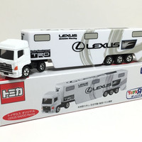 SALE Tomica Long Lexus Gazoo Racing Transporter Toyota Toys R Us Exclu