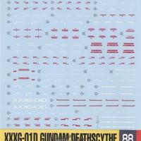 DECAL 1/100 MG XXXG-01D2 Gundam Deathscythe EW Decal