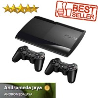 PS3 PS 3 SONY Playstation3 Super Slim 320GB Isi Games Original