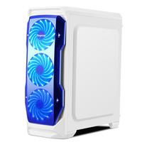HOT DESIGN SEGOTEP HALO WHITE - FULL SIDE WINDOW + FRONT 3 X 12CM LED