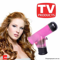 Wind Spin Easy Curl - Corong Hairdryer Pengeriting Rambut