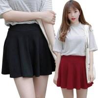 Jual Rok Mini Ngembang Pendek Ice Cream Flare Korea Wanita Import AllSize Murah