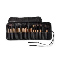 Jual Kuas Makeup isi 24 - Brush Make up Set 24 pcs wooden handle Murah