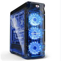 HOT SEGOTEP LUX BLACK - FULL SIDE WINDOW + FRONT 3 X 12CM LED FAN USB