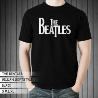 Jual Kaos Band GILDAN The Beatles 02 Murah