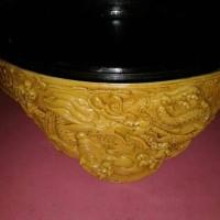 tebok lovebird fiber motif naga + pion dan klem
